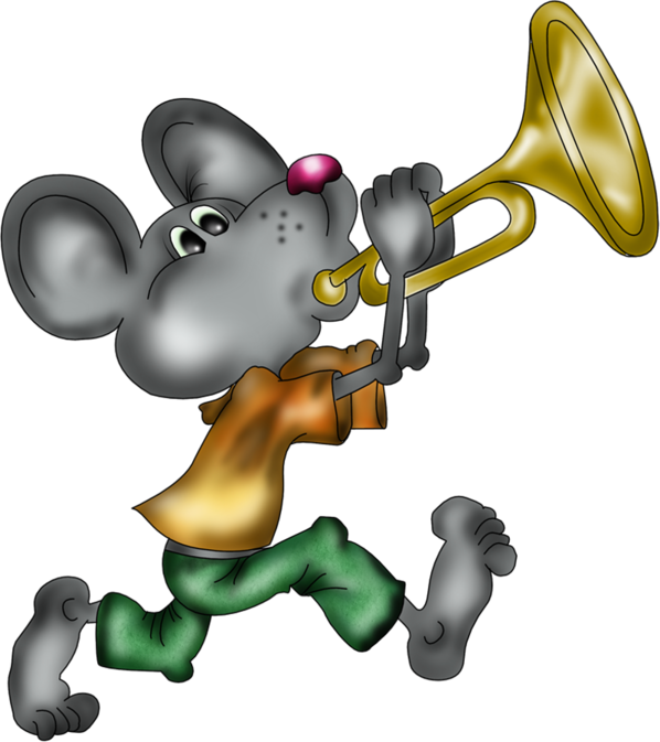 Ratoncito con trompeta Ew8Uo7