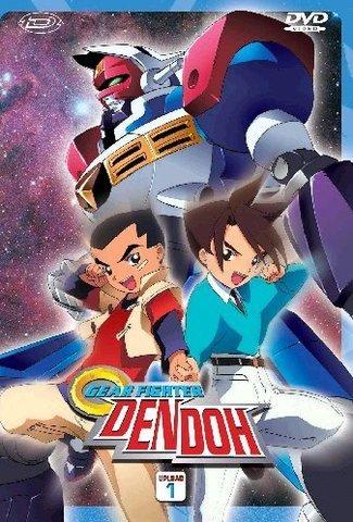 Gear Fighter Dendoh (2000) (9xDVD9) MHost Ita Serie Completa 665739