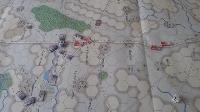 Le Retour de l'Empereur ! La Bataille des Quatre Bras 2t8w