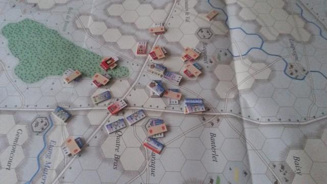 Le Retour de l'Empereur ! La Bataille des Quatre Bras L36r