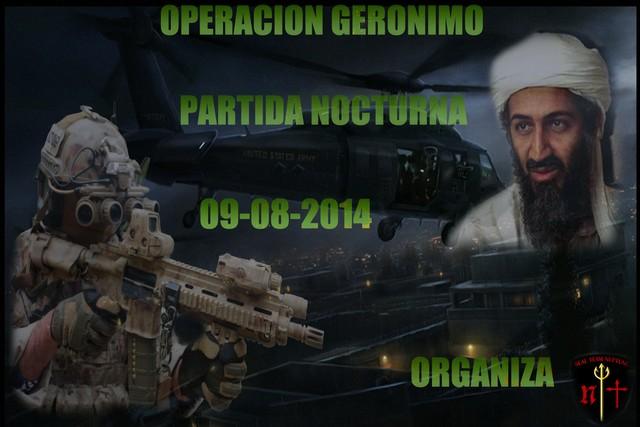 OPERACION GERONIMO (partida nocturna) 09-08-2014 Of600
