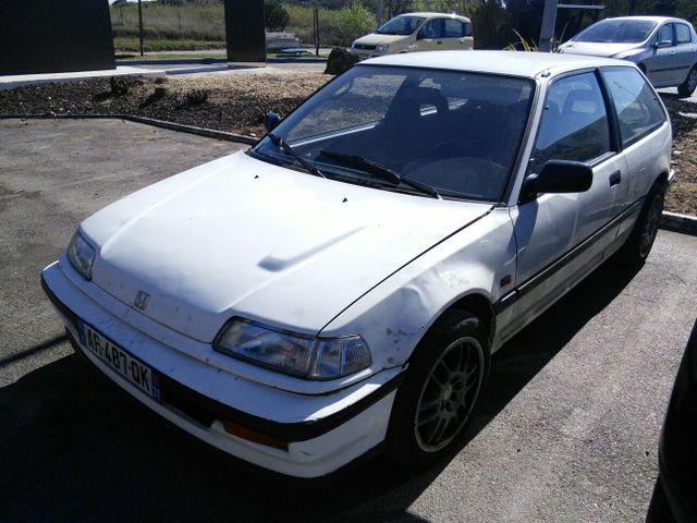 HONDA Civic ED737 restauration! N5dj