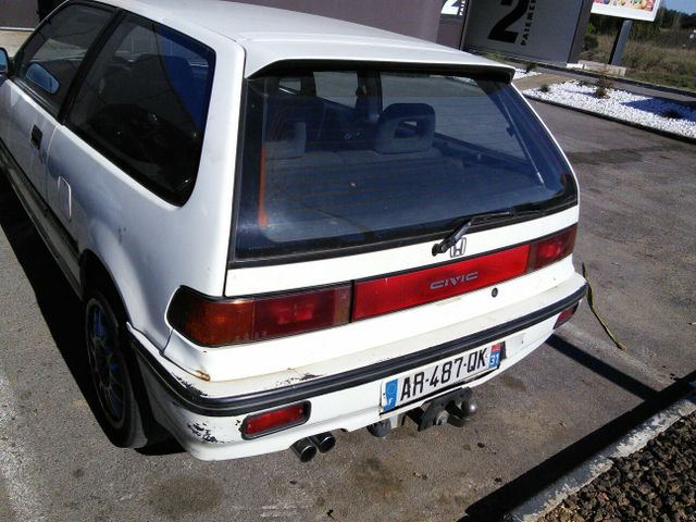 HONDA Civic ED737 restauration! Gpe1