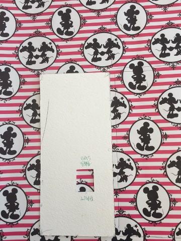 Sac à main Disney en papier cadeau DNLej0
