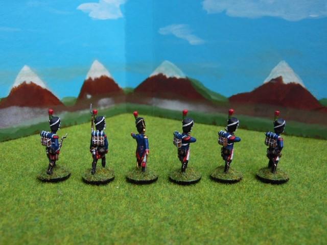 Chasseurs à pied de la garde 1/72 IIEG8r