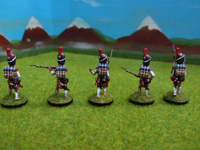 Grenadiers hollandais au 1/72 RfDP8p