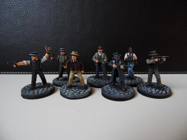 Prohibition : Gangsters, agents féderaux du tresor et citoyens. 28mm UUZqvy