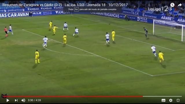 [J18] R. Zaragoza - Cádiz C.F. - Sábado 09/12/2017 20:30 h. 1CCf3d