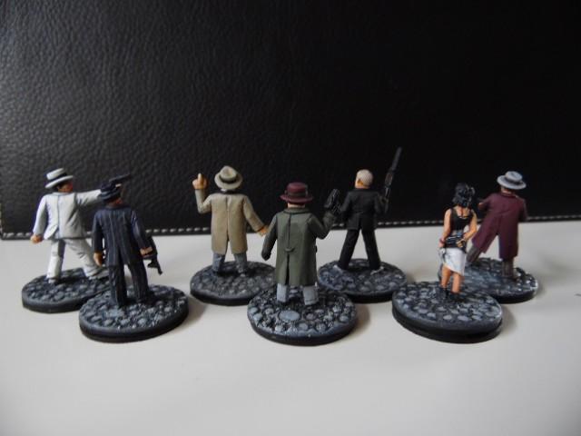 Prohibition : Gangsters, agents féderaux du tresor et citoyens. 28mm BtxUK9