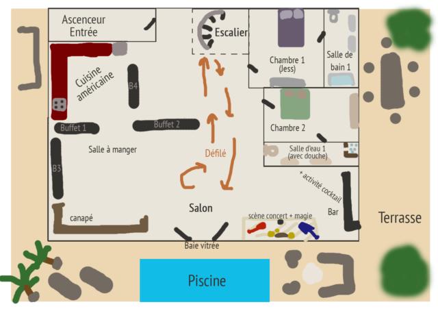 Plan du Penthouse ZQRzZe