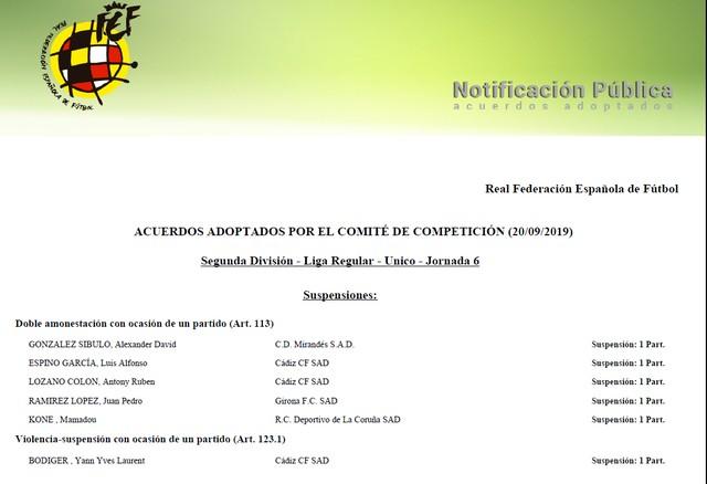 Denegados los recursos por Espino y Choco Lozano J2eTMa