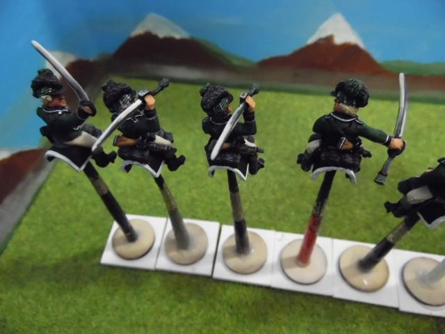 Cavaliers de la légion britannique: Guerre d'indépendance américaine RuHSM7