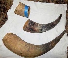 Powder Horn, fun project ( I think) BTSUiw