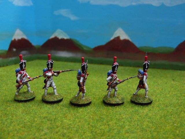 Grenadiers hollandais au 1/72 CInegs