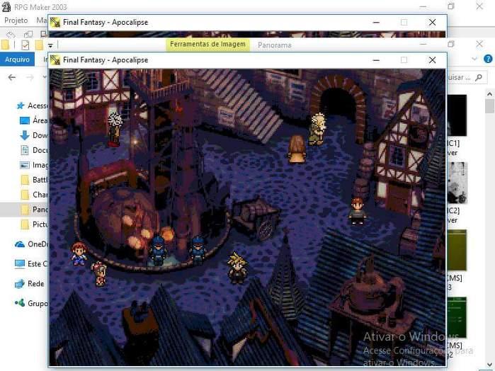 "Final Fantasy VII - ""Regênesis"" (Screenshots) N4Ke5q"