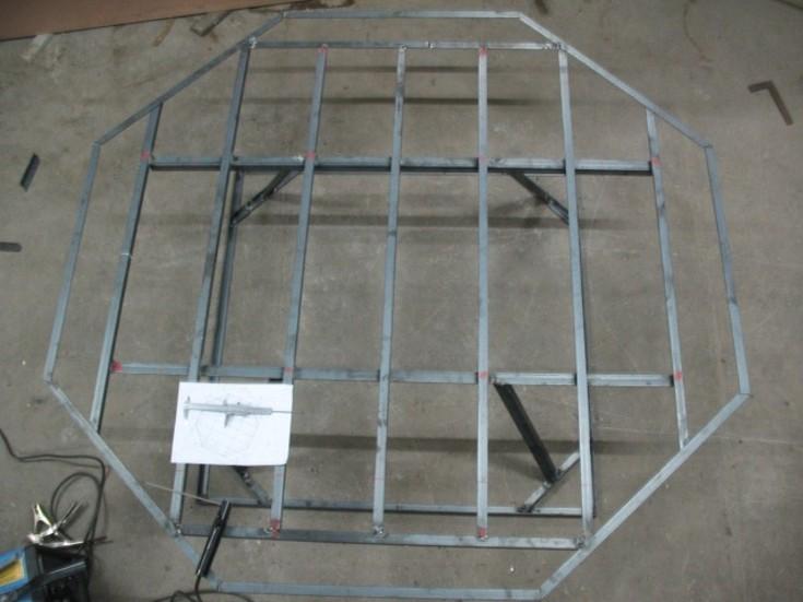 Construcción de Horno para Fabricar Espejos Astronómicos JZaWEl