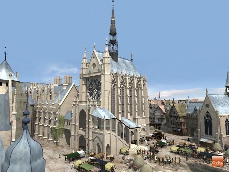 Reconstrucción 3D del París de 1550 P4d5