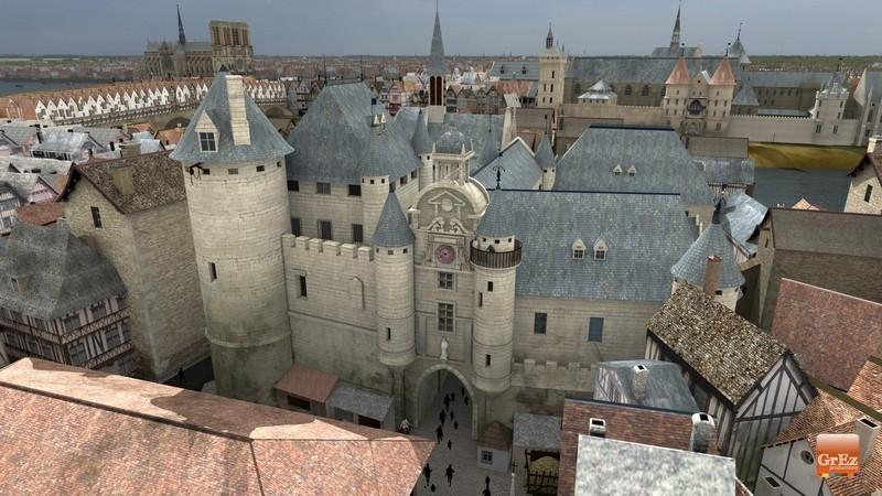 Reconstrucción 3D del París de 1550 7jhn