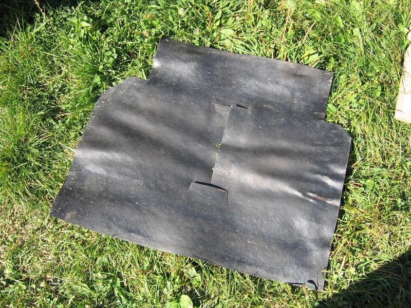refection plaque caoutchouc du support reservoir yj 92 5gd1