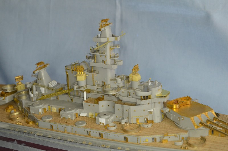 ABSD ARTISAN et USS MASSACHUSETTS BB-59 au 1/350 - Page 6 33sPJk