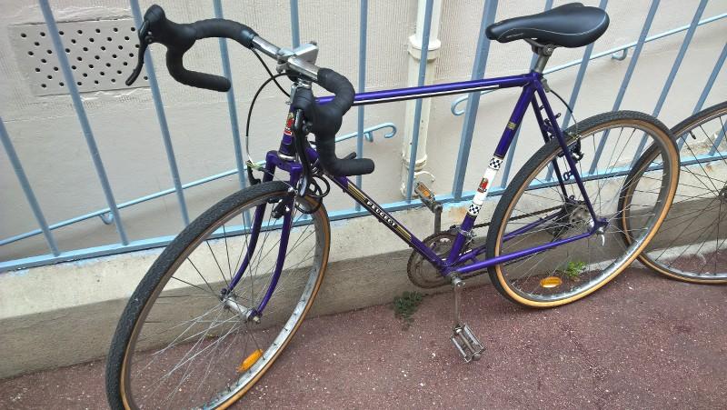 Peugeot PL 50 A Paris à vélo... 3XTO6U