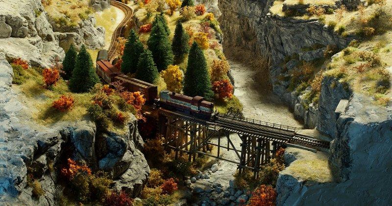 Canyon Railway, der Neubeginn 4VrIDx