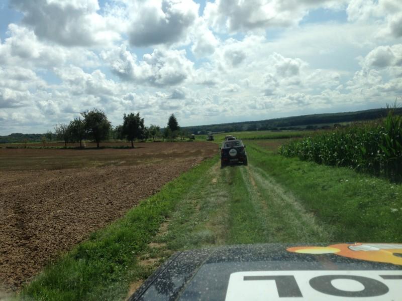 La traversée de la France avec ma p'tite Jeep LQHCCE