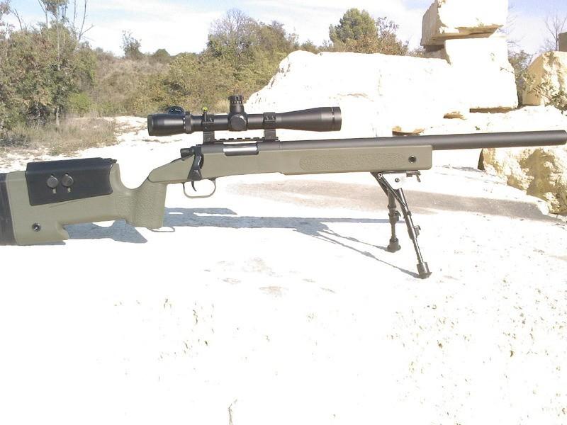Crosse M40 A3 pour VSR / BAR 10 par Modelwork. SY34Ky