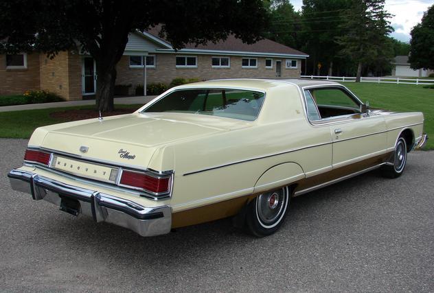 ... (US) 1977 Mercury Grand Marquis  ... Cccf3f
