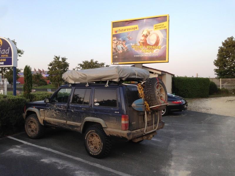 La traversée de la France avec ma p'tite Jeep LhlESS