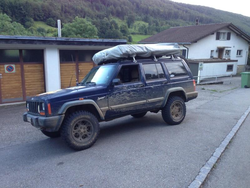 La traversée de la France avec ma p'tite Jeep TFy624