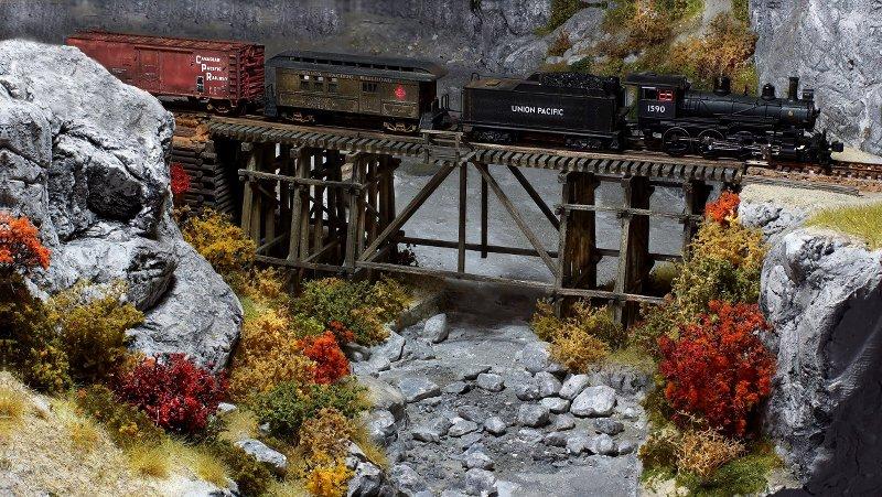 Canyon Railway, der Neubeginn ViQ90y