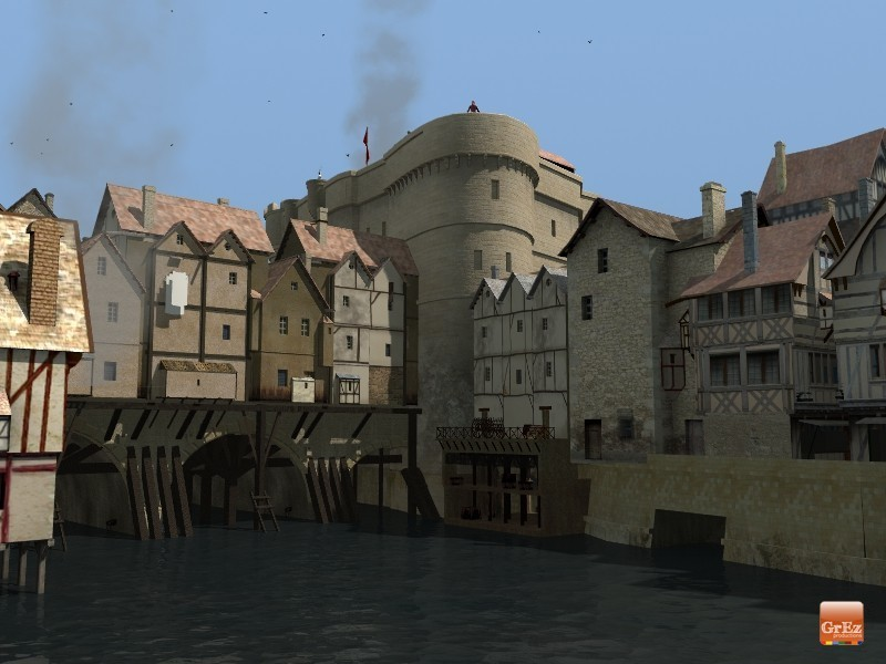 Reconstrucción 3D del París de 1550 A9jr