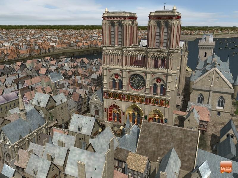 Reconstrucción 3D del París de 1550 Qqlu