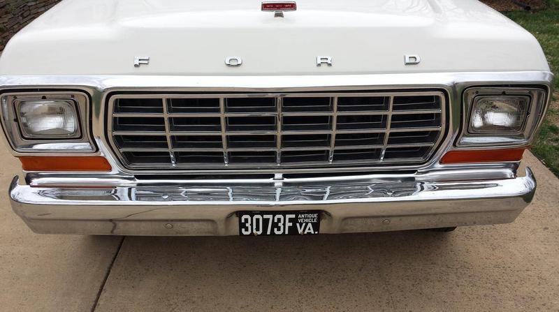 ... (US) 1978 Ford F100 Ranger XLT ... 824b4f