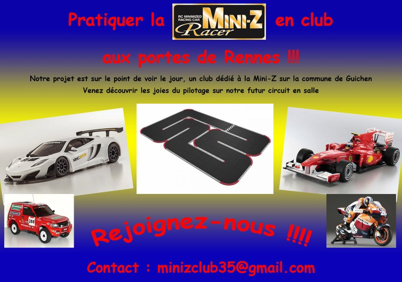Mini Z Club 35 // Piste permanente RCP Track AvZI30