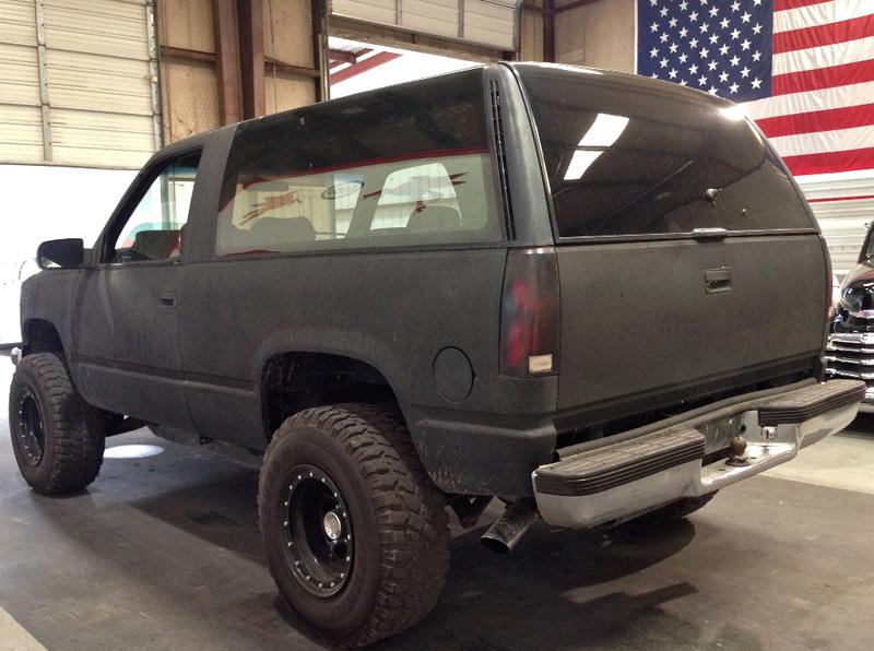 ... (US) 1993 Chevrolet Blazer ... B50327