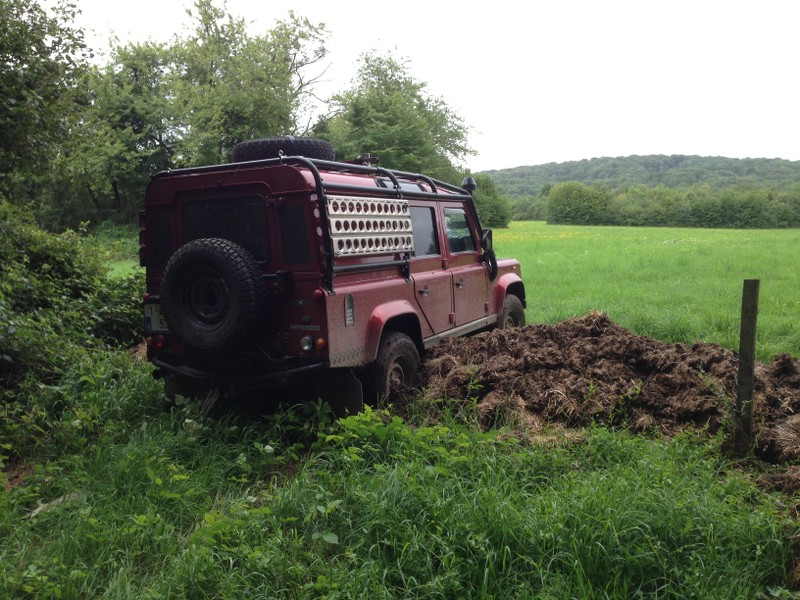 La traversée de la France avec ma p'tite Jeep SDJfQI