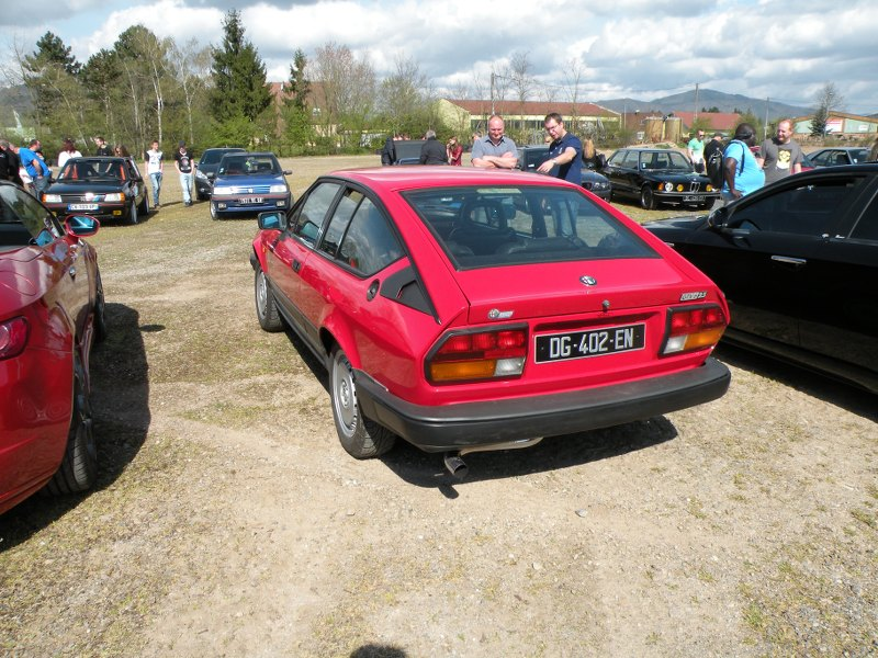 Ici les photos du Rasso d'Autos Anciennes et sportives  du 12.04.2015 à Séléstat PtJRaU