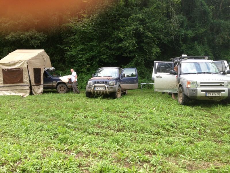La traversée de la France avec ma p'tite Jeep MaJ22x