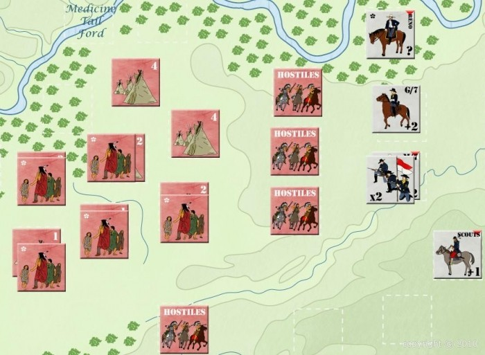 """[Les Jeux du Griffon] Guerres Indiennes, vol. I, """"Custer"""" QK59E5"""