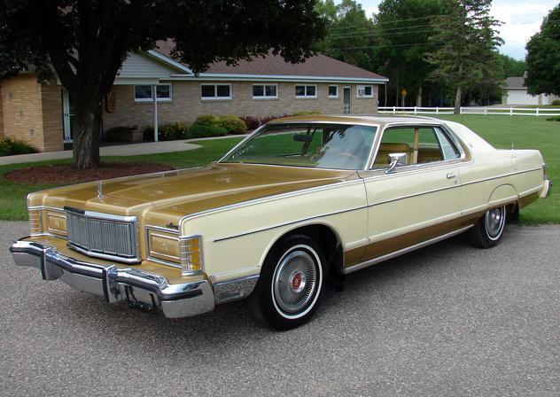 ... (US) 1977 Mercury Grand Marquis  ... 4338fb