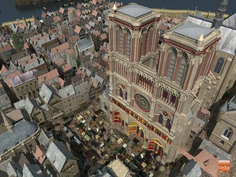 Reconstrucción 3D del París de 1550 C57j
