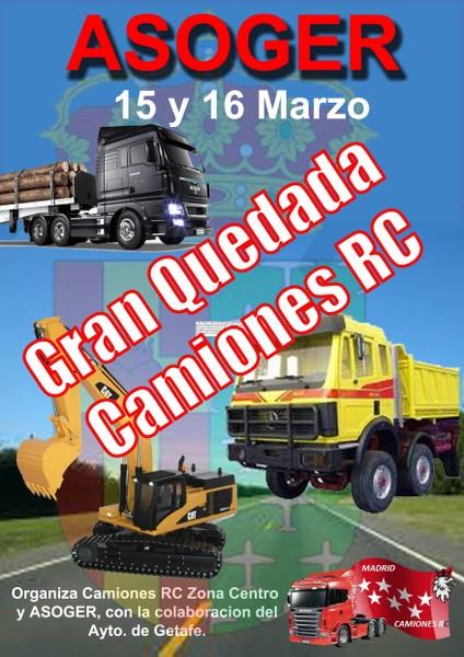 Primera Concentracion Camiones RC Zona Centro 15-16 De Marzo 2014 5pds