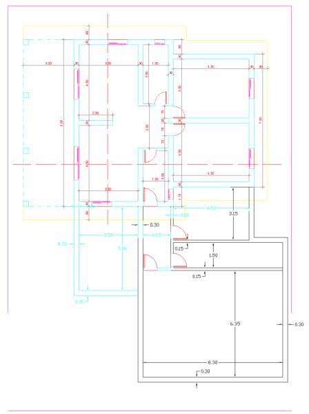 para - Ayuda para ampliación con estructura metálica 4x79