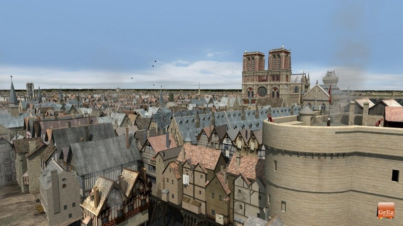 Reconstrucción 3D del París de 1550 Erwl