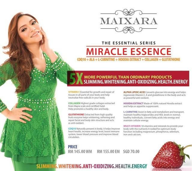 Maixara Miracle Essence - Sihat dan Cantik  U8nx