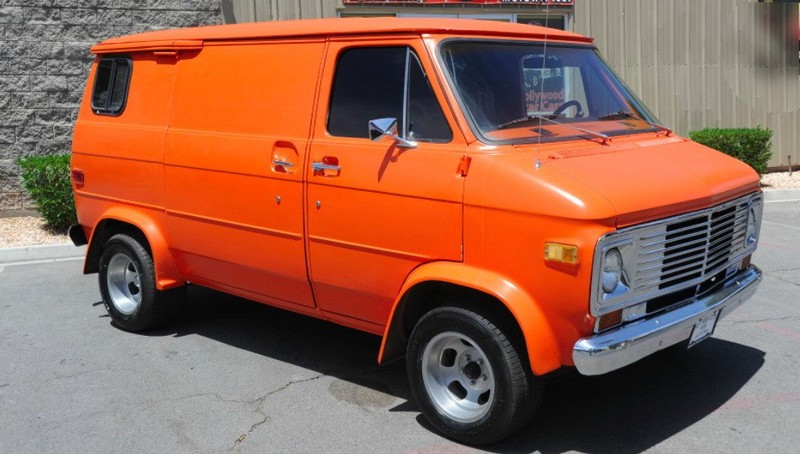 ... (US) 1977 Chevy G20 Van ... Bnt6