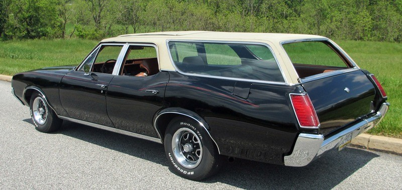 ... (US) ... 1971 Oldsmobile Cutlass Wagon ... 5mcx7