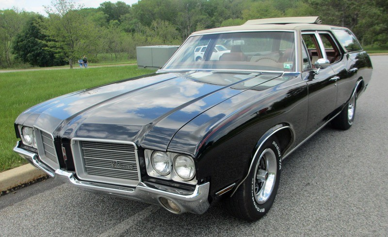 ... (US) ... 1971 Oldsmobile Cutlass Wagon ... Bdjma